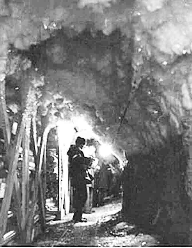 Permafrost tunnel