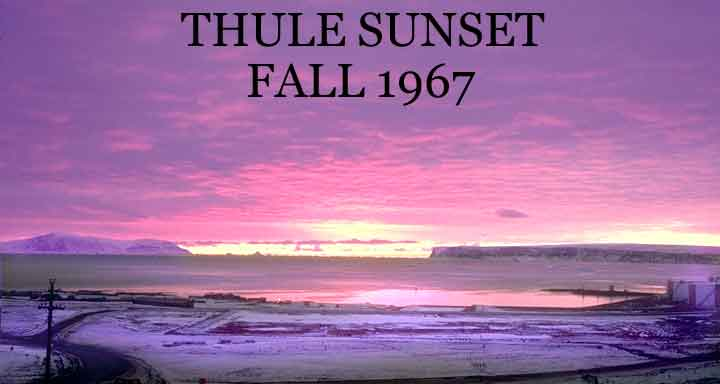 Thule, Greenland Sunset