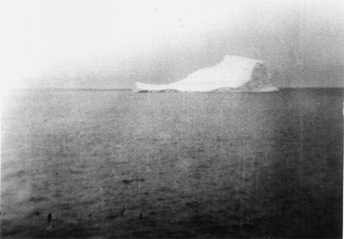 Iceberg in Baffin Bay on way to Thule